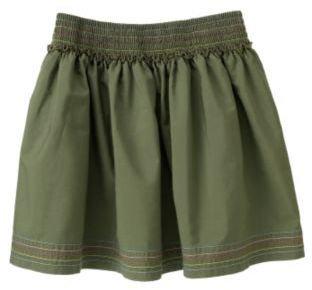 Crazy 8 Topstitched Skirt