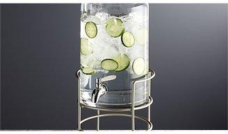 Crate & Barrel Cold Drink Dispenser