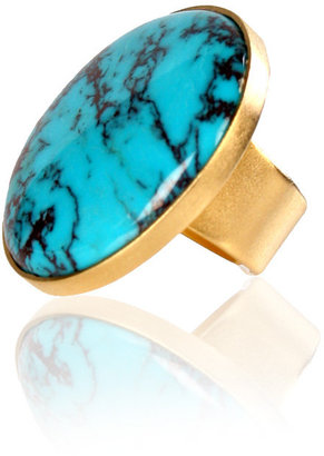 Citrine by the Stones Turquoise Ring