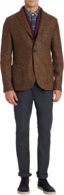 Harris Wharf Donegal Two-Button Sport Coat