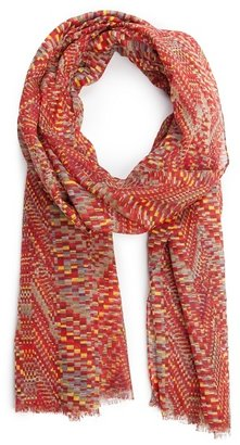 MANGO TOUCH - Geometric print foulard