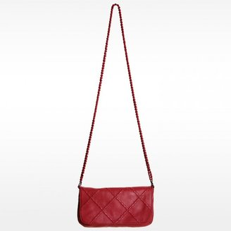 Linea Pelle Jules Stitch Cross Body Clutch