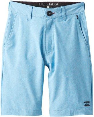 Billabong Big Boys' Crossfire PX Shorts Washed Blue 28
