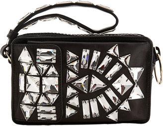 Givenchy Leather Camera Case - Black