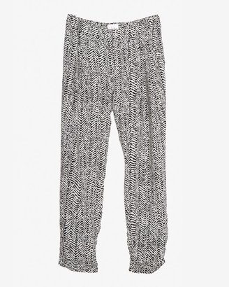 Parker Exclusive Ruched Silk Pant