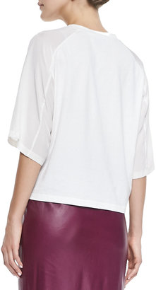 3.1 Phillip Lim Poodle Cropped Tee