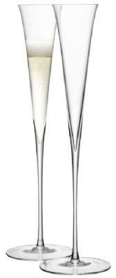 LSA International Celia Champagne Flutes Set of 2