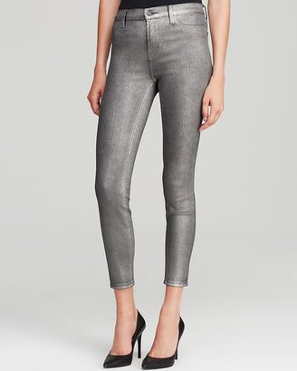 J Brand Jeans - Bloomingdale's Exclusive Stocking Alana High Rise Ankle Crop in Midnight Metal