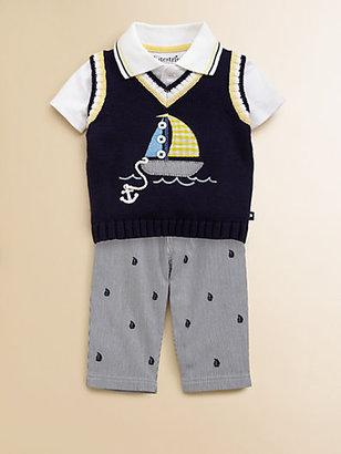 Hartstrings Infant's Nautical Striped Pants