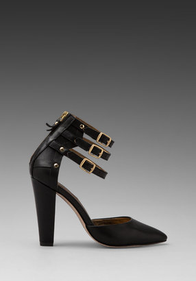 Twelfth St. By Cynthia Vincent By Cynthia Vincent Paxton Three Strap Leather Pump