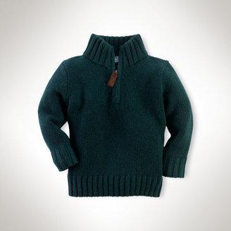 Ralph Lauren Cashmere Half-Zip Pullover