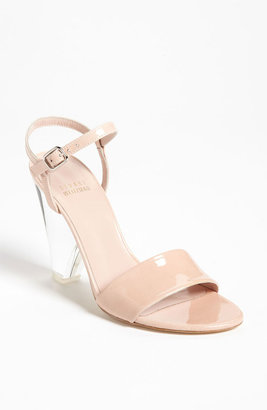 Stuart Weitzman 'The One' Sandal Blush Aniline 6 M