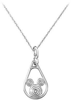 Disney Mickey Mouse Necklace - Mickey Swirl