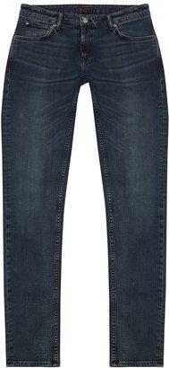 Nudie Jeans Skinny Lin Dark Blue Jeans