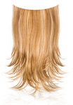 Ken Paves 22 Inch Clip-In Straight Extension - Ginger Blonde