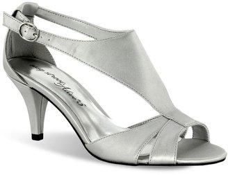PeepToe Easy street eclipse wide peep-toe dress heels - women