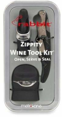 Rabbit Zippity Wine Tool Kit
