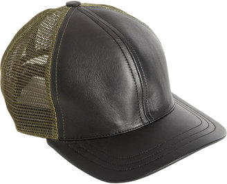 Nice Collective Leather Baseball Cap