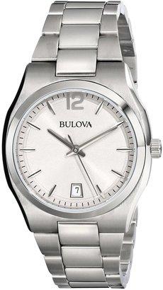 Bulova Women's 96M126 Classic Analog Display Japanese Quartz White Watch