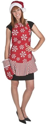 Waverly Traditions by Apron & Oven Mit Set