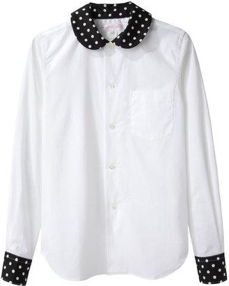 Comme des Garcons Dots Collar Shirt
