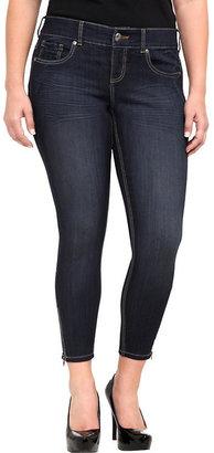 Torrid Ankle Zip Stiletto Jean - Dark Wash (Short)