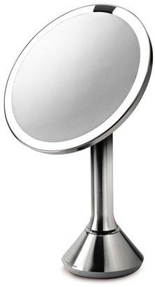 Simplehuman Countertop Sensor Makeup Mirror $200 thestylecure.com