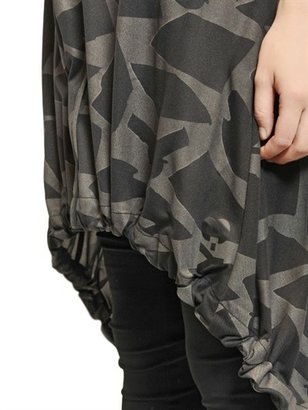 Y-3 Reflective Techno Camouflage Dress