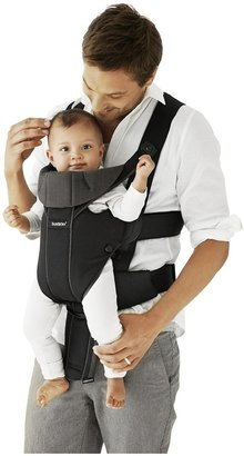 BABYBJÖRN Miracle Baby Carrier - Black/Brown, Organic