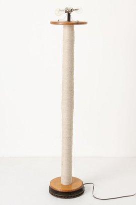 Anthropologie Industrial Stitching Floor Lamp
