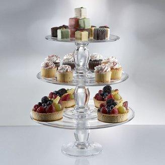 Artland Simplicity 3-pc. Stacking Cake Plate Set