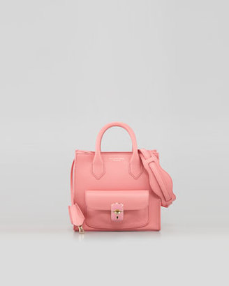 Balenciaga Padlock Mini Crossbody Bag, Pink