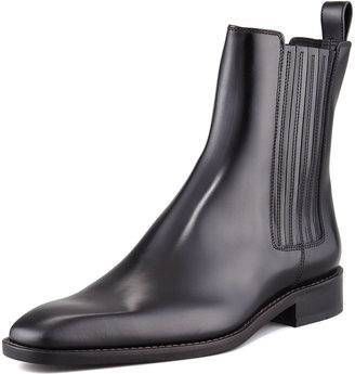 DSquared Dsquared2 Leather Chelsea Boot, Black