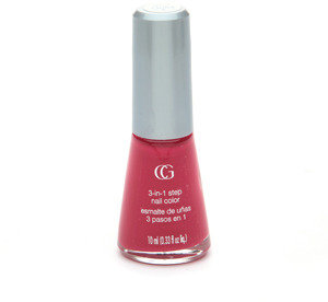 Cover Girl Queen Collection 3-in-1 Step Nail Polish, Wild Rose Q084