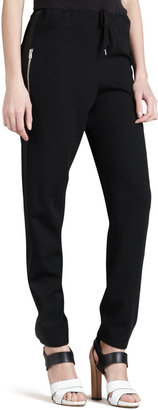 McQ by Alexander McQueen Tie-Waist Relaxed Pants