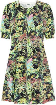 Kenzo Printed cotton-blend dress