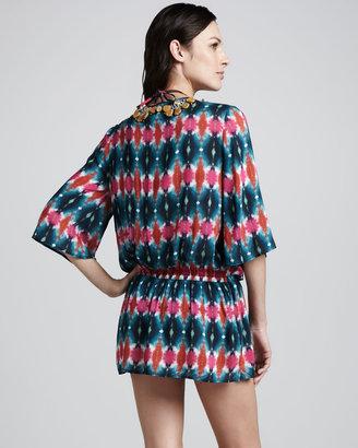 Milly Artola Tie-Dye Coverup