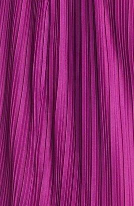 Donna Ricco Embellished Pleat Trapeze Dress (Plus Size)