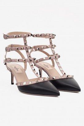 Valentino Rock Stud Slingback Heel