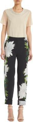 3.1 Phillip Lim Floral Print Pants