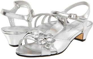 Jumping Jacks Monique (Toddler/Little Kid) (Silver Small Grain Smooth) - Footwear