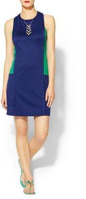 Pim + Larkin Colorblock Shift dress