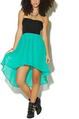 Wet Seal Sweetheart 2Fer High-Low Dress