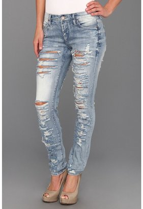 Blank NYC The Skinny Classique Ripped Jean in Riot (Riot) - Apparel