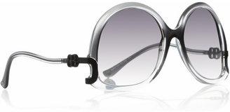 Balenciaga Oversized round-frame sunglasses
