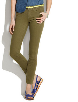 Madewell Skinny Skinny Ankle Jeans in Tuscan Olive