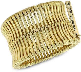 BCBGeneration Bracelet, Gold-Tone Linear Bar Bracelet