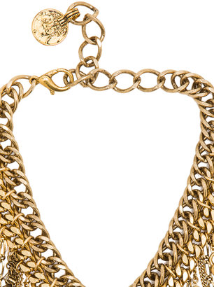 Erickson Beamon Charm Necklace in Gold