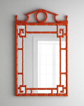 Tangerine Pagoda Mirror