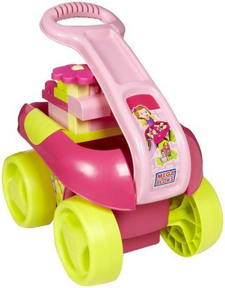 Mega Bloks Build'n Go Wagon Pink (21 pcs)